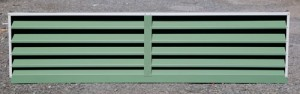Custom made Louvered Vent